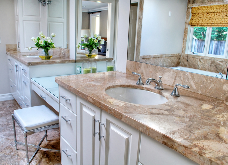 Renovating the bathroom? There may be room for a seated vanity.